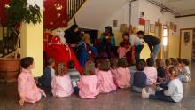 Los reyes Magos visitaron a los alumnos/as de Infantil