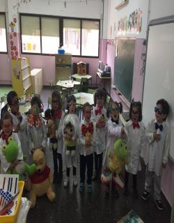Los alumnos/as de tres años.