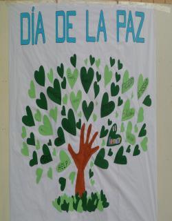 Mural elaborado por los alumnos/as